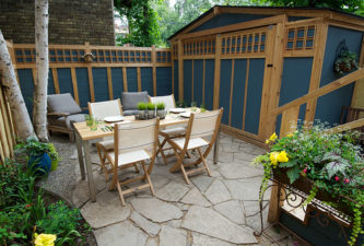 Arts Crafts - Backyard landscape design - Toronto