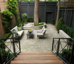Formal Urban Pocket - Backyard Landscape Design