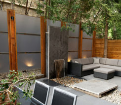 Contemporary Backyard Design - Backyard Landscape Design, Toronto