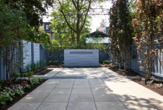 Sander Design Landscape Architecture - Contemporary Backyard Design - Deer Park