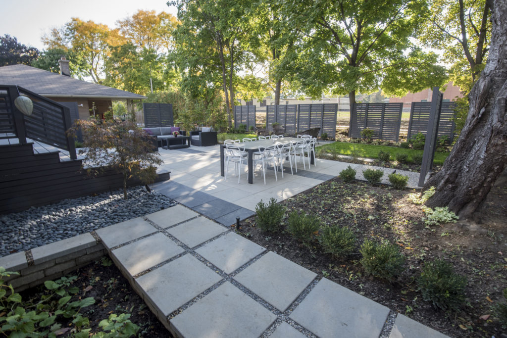 Sander Design Landscape Architecture - Contemporary outdoor room
