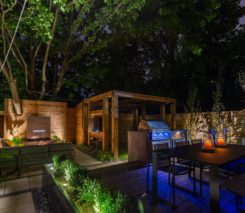 Sander Design - Backyard Landscape Design - Urban Retreat